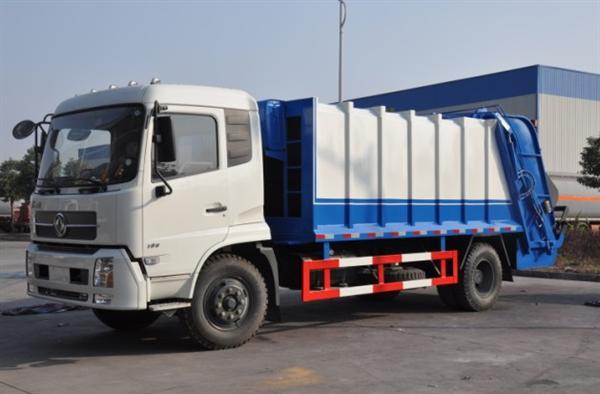 xe cuốn ép rác 6 khối dongfeng nhập khẩu
