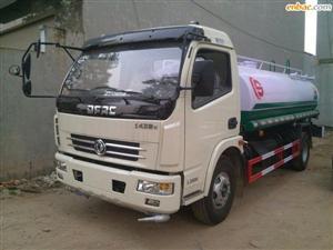 Xe téc nước rửa đường dongfeng 8 khối nhập khẩu