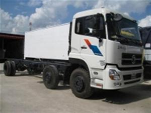 Xe tải thùng 2 dí 1 cầu cumin B210-33